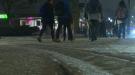 Pedestrian hit on Phillip street.