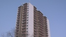 Firefighters rescue residents from high-rise fire