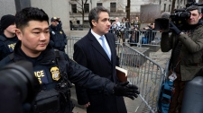 Michael Cohen sentenced