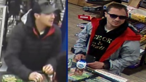 Banff RCMP want the public's help to identify this suspect wanted in connection with a series of thefts and frauds in the Bow Valley area.