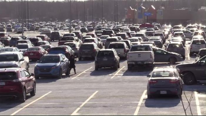 Dartmouth Crossing cars