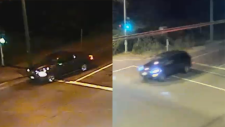 Two vehicles sought in connection with the murder of Kiran Dhesi are seen in these images provided by IHIT.