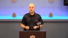 Vancouver Police Constable Jason Doucette holds a press conference on Wednesday, December 12th, 2018 to provide updates on a sexual assault investigation involving a six-year-old girl.