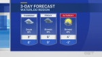 Mild weather ahead, but not before snow