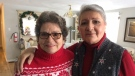 Laura Pullman and Nancy Drever are seniors choosing to live with roommates after a Barrie property management company started converting student homes into shared housing for seniors. (CTV Barrie Rob Cooper)
