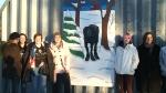 Moose Jaw youth rids graffiti with art