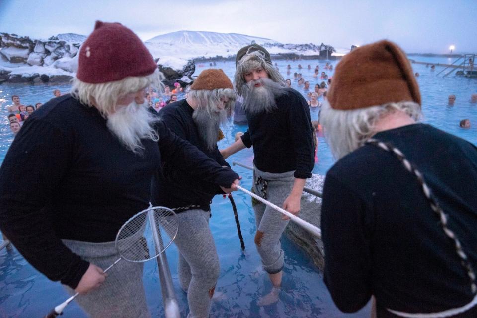 iceland santa