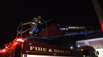 Chimney fire in Perth County