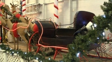 Empty sleigh
