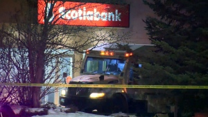 Two guards injured in Edmonton bank robbery and ex