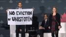 Protestors take centre stage at Canada 2020 event