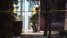 edmonton bank robbery explosion