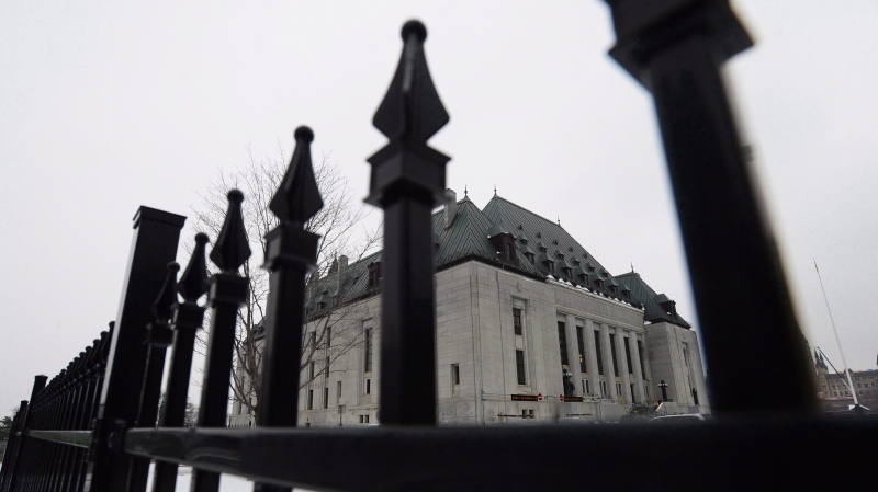 Supreme Court of Canada is shown in Ottawa on January 19, 2018. THE CANADIAN PRESS/Sean Kilpatrick