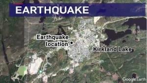 Kirkland Lake earthquake