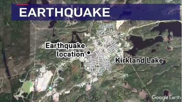 Kirkland Lake earthquake