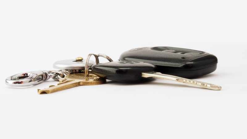 A set of car keys seen in this undated stock photo. (Brett Jordan / Pexels)
