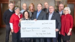 A tribute dinner for Ken Seiling raised $60,000 for Hospice Waterloo. (Source: Hospice Waterloo)