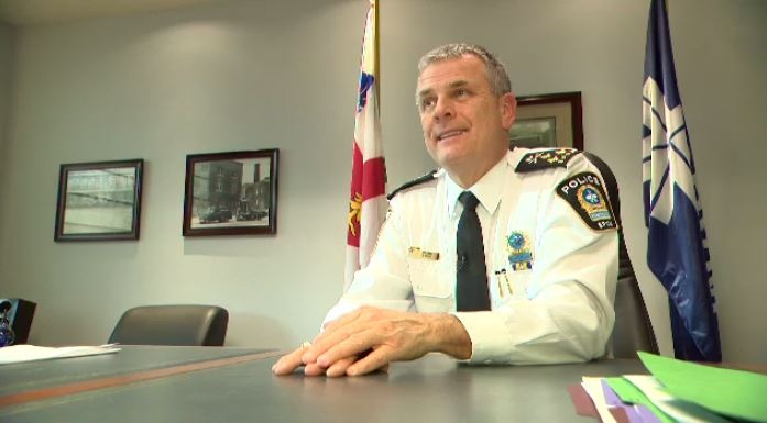 Sylvain Caron, Montreal's chief of police