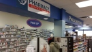 The Express Aid Pharmacy on Grove Street in Barrie, Ont. on Thursday, Dec. 13, 2018 (CTV News/Aileen Doyle)