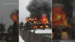 From CTV Kitchener's Max Wark: A fire near Guelph