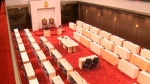First look at Senate's temporary home