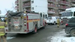 Donald St. fire displaces dozens before Christmas