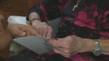 Vision screening tests keeps seniors on their feet