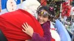 Santa at Stollery