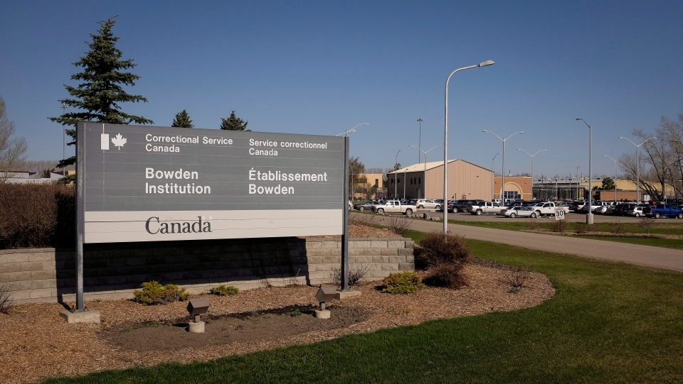 The Bowden Institution near Calgary, Alta., Thursday, May 7, 2015, has a minimum-security site along with its medium-security facility. (THE CANADIAN PRESS/Jeff McIntosh)
