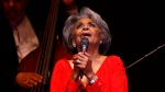 In this June 29, 2007 file photo, singer Nancy Wilson, performs at her Swingin' 70th Birthday Party at Carnegie Hall in New York. (AP Photo/Rick Maiman, File)