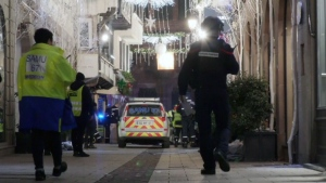 Video captures aftermath of France attack shootout
