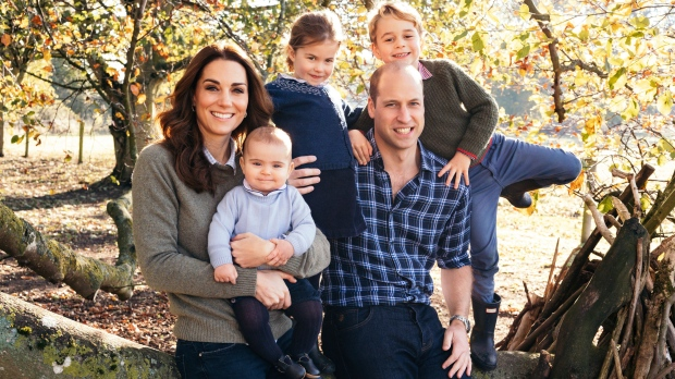 New photos of the Cambridge & Sussex family are released for Christmas