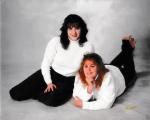 Sisters Renee (L) and Kim (R) Sweeney