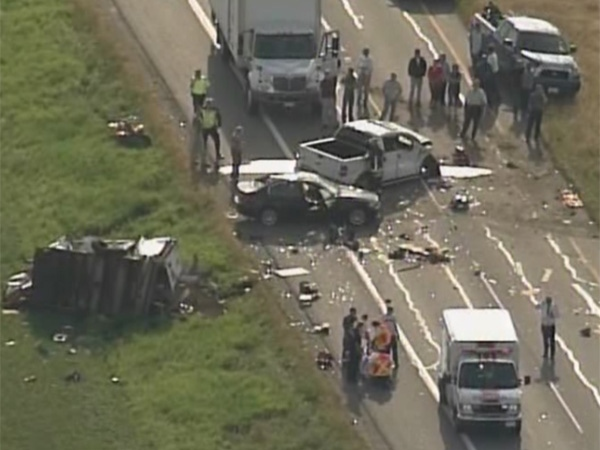 Hwy  99 traffic snarled by accidents in Delta | CTV News