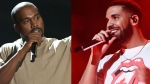 Drake and Kanye feud on Twitter