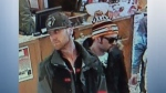 The Old Strathcona Antique Mall said these two men stole jewelry on Wednesday, Dec. 12, 2018.