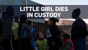 7-year-old migrant girl dies in U.S. custody