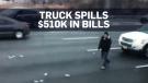 cash spill