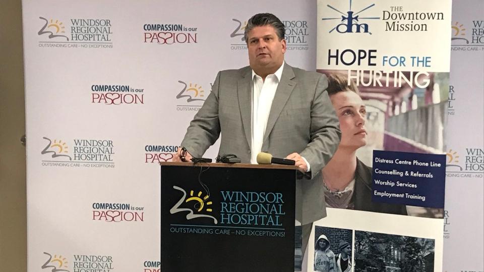 Windsor Regional Hospital David Musyj
