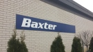 The Baxter facility in Alliston, Ont. on Friday, Dec. 14, 2018 (CTV News/Aileen Doyle)