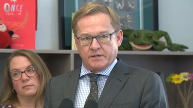 Speaking at an engagement in Edmonton of Friday, David Eggen said he's calling on all of Alberta's Catholic School Boards to submit a copy of their employment contracts for review