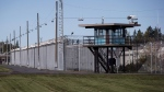 Federal prison guards are flagging health and safety concerns in pushing for changes to planned needle exchange programs in penitentiaries. The Matsqui Institution, a medium-security federal men's prison, is seen in Abbotsford, B.C., on Thursday October 26, 2017. THE CANADIAN PRESS/Darryl Dyck
