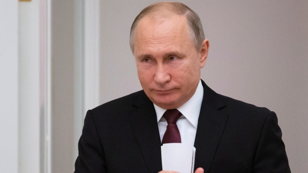 Putin says rap music should be controlled in Russia