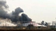 Fire erupts at Chester Zoo