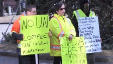 'Yellow Vest' protests held in the Maritimes