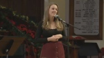 Saint Matthew's Church in Halifax was filled with Christmas tunes in support of a newcomer family from Syria.