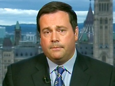 Immigration Minister Jason Kenney speaks to CTV News Channel from Ottawa, on Tuesday, July 14, 2009.