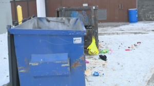 Families are on edge as Winnipeg police investigate the circumstances involving a man's body which was found in an apartment building.