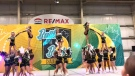 Local cheer team crash