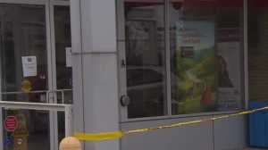 Police have arrested two people in connection with seven bank robberies in Toronto.